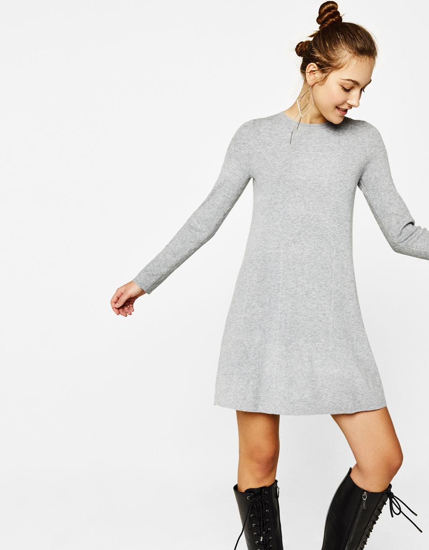 Vestido corto línea A