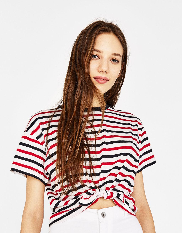 Camiseta con algodón orgánico nó dianteiro