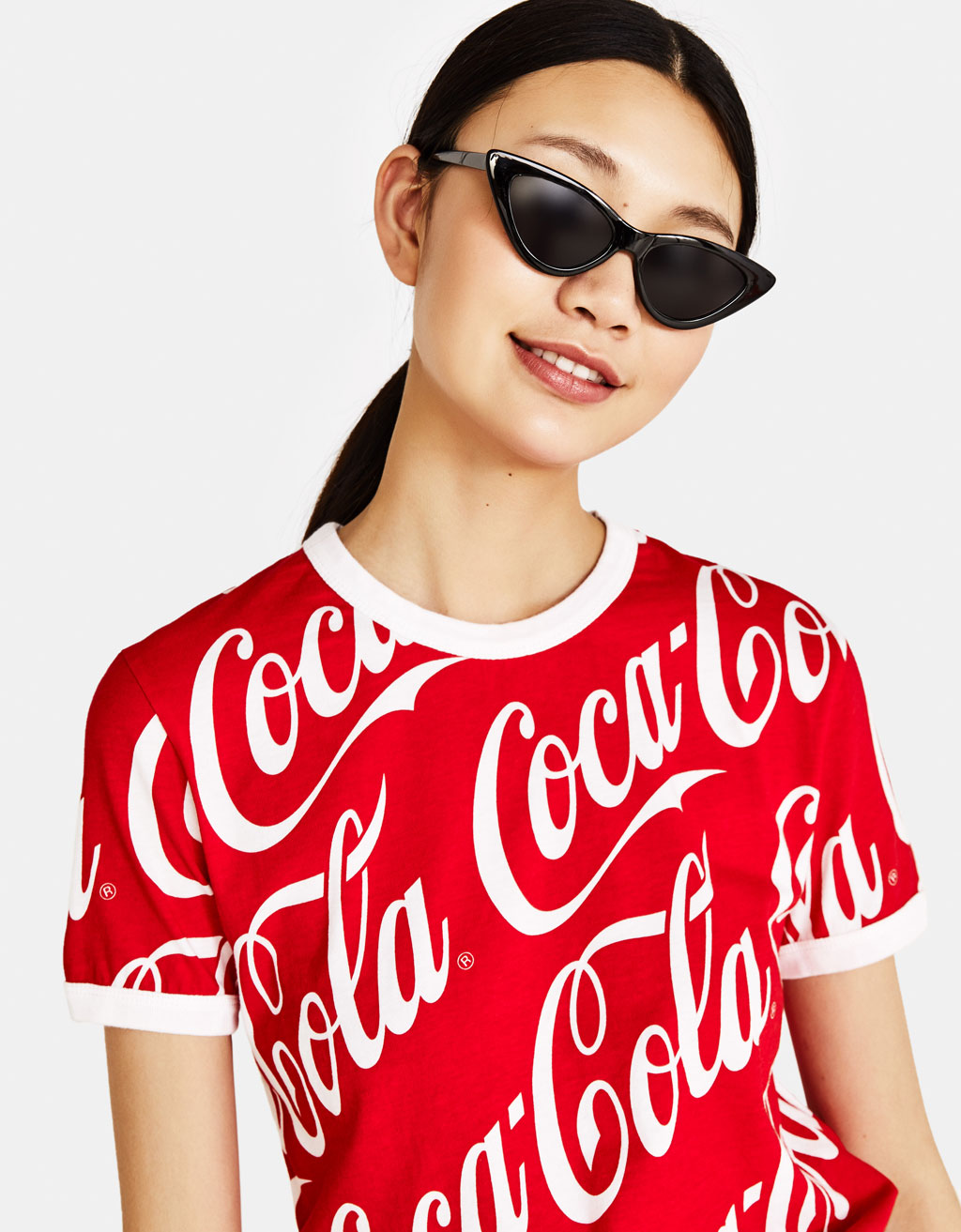 Ecologically grown cotton Coca-Cola T-shirt