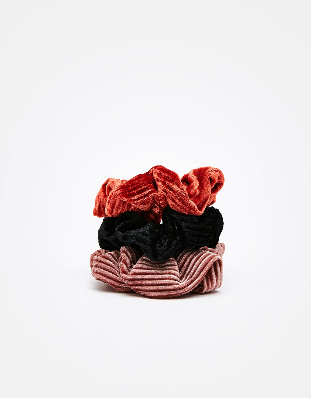 Set of 3 velvet scrunchies