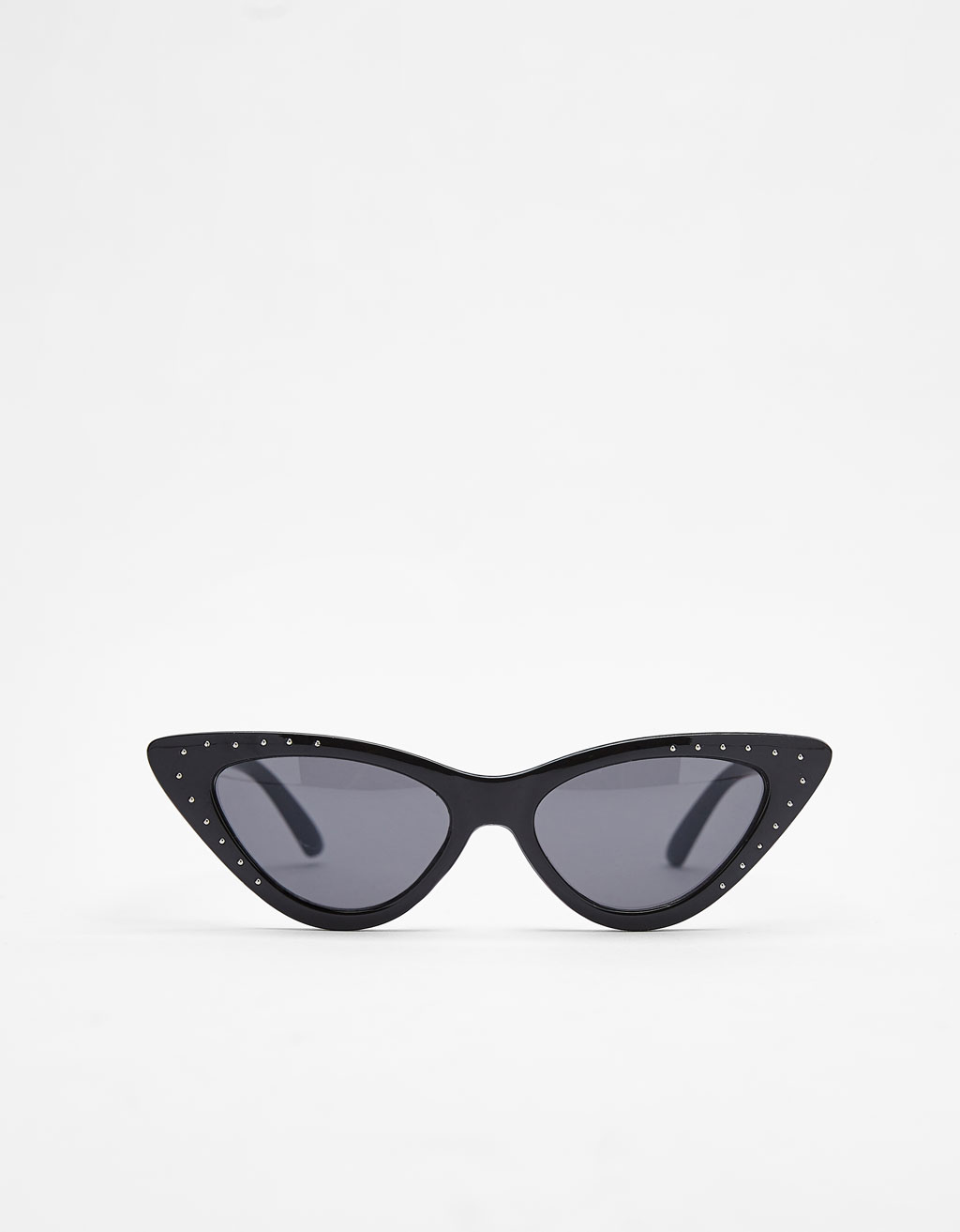 Cat eye sunglasses with diamanté details