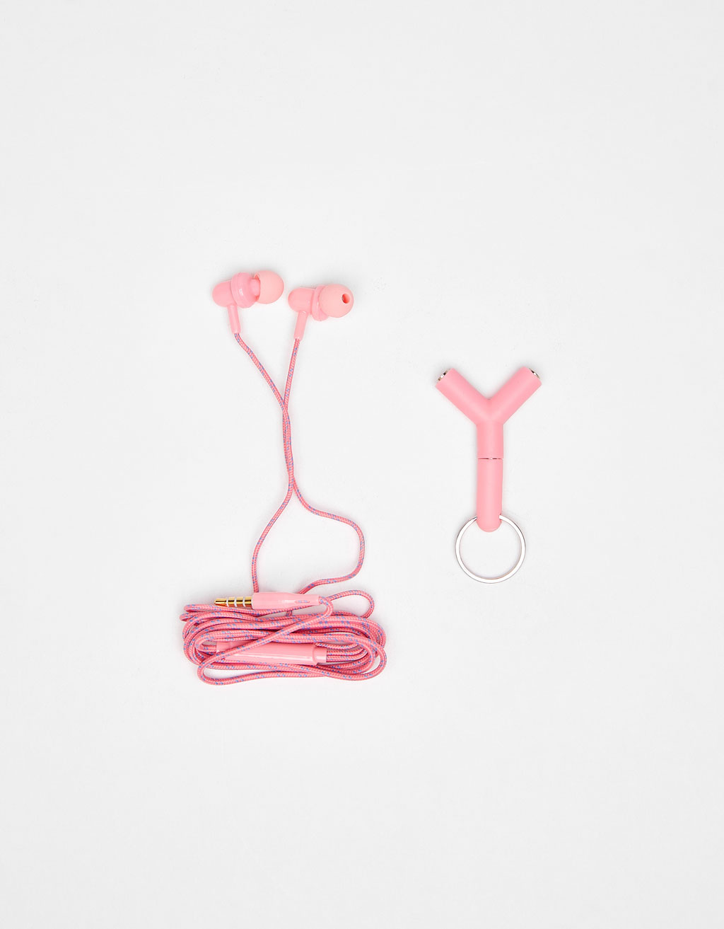 Double entry earphones