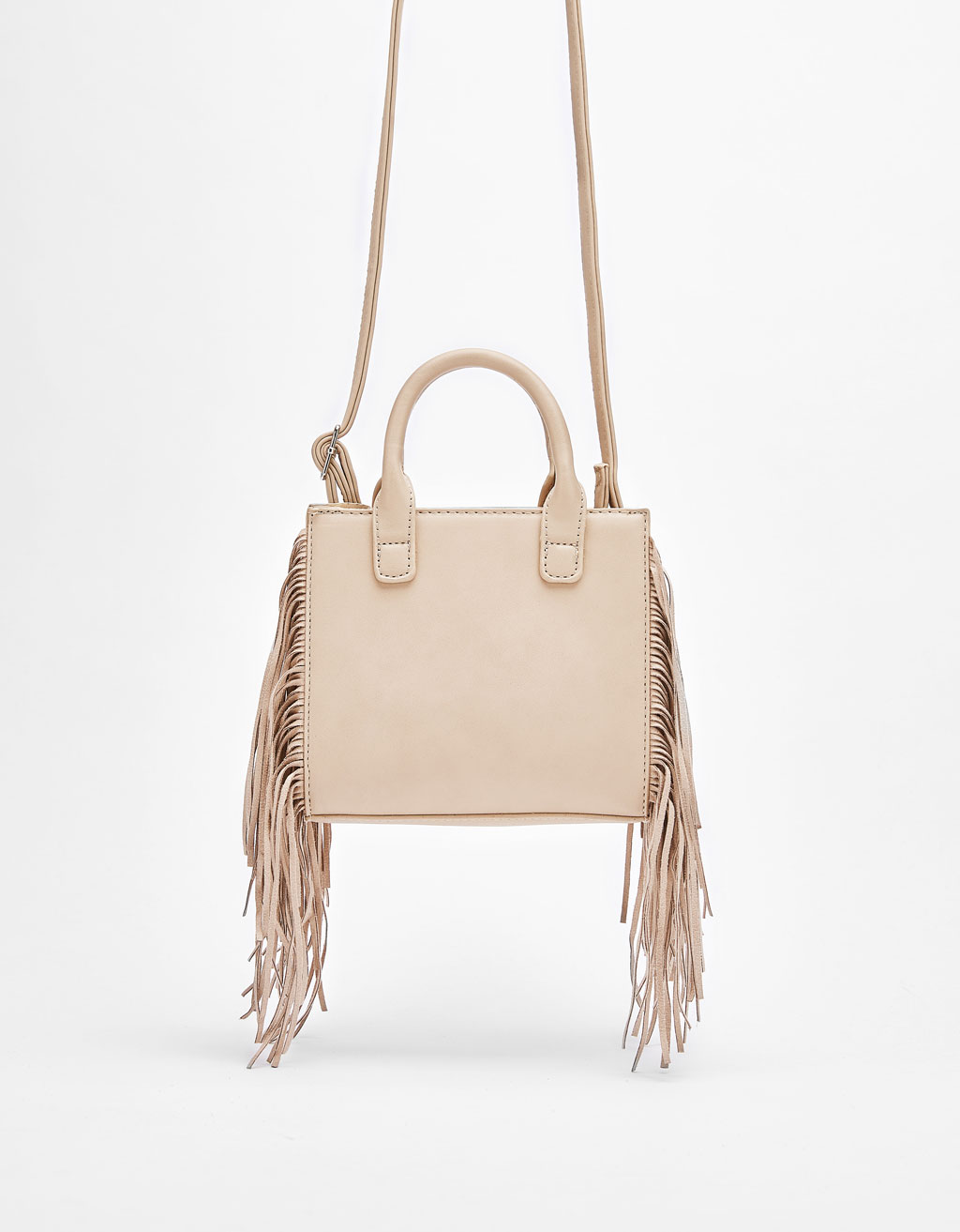 Handbag with fringing