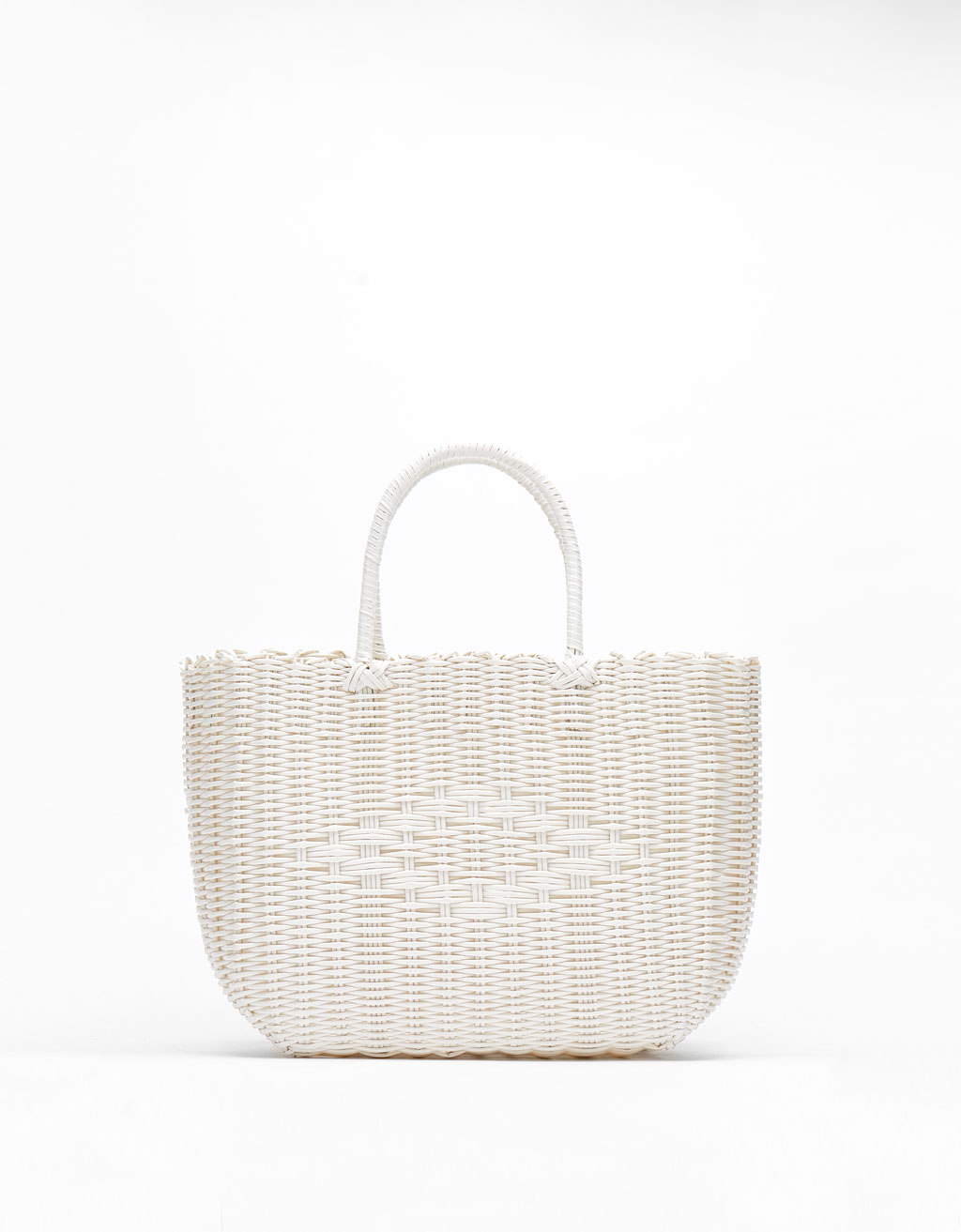 Basket-style tote bag