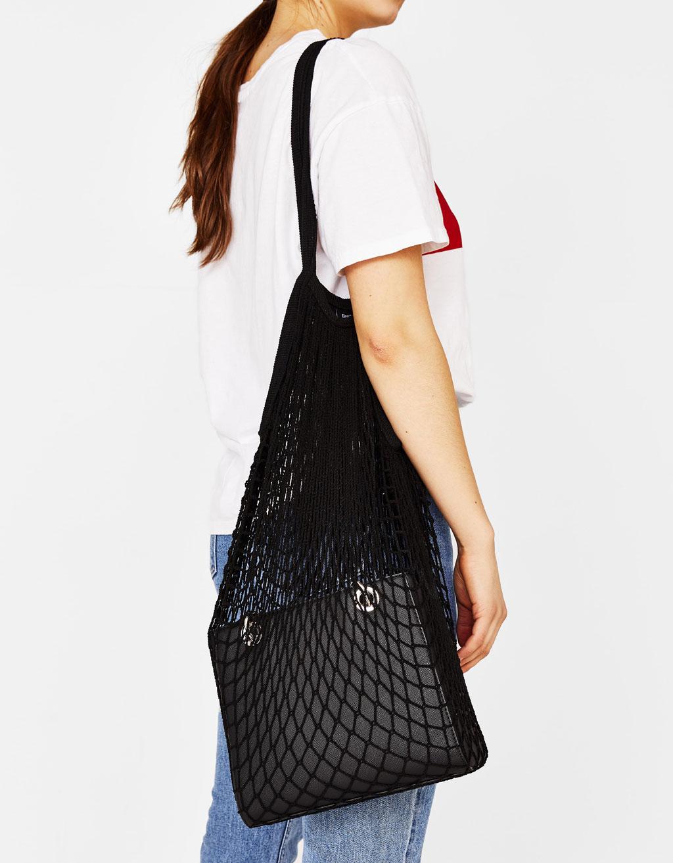 Διχτυωτή τσάντα