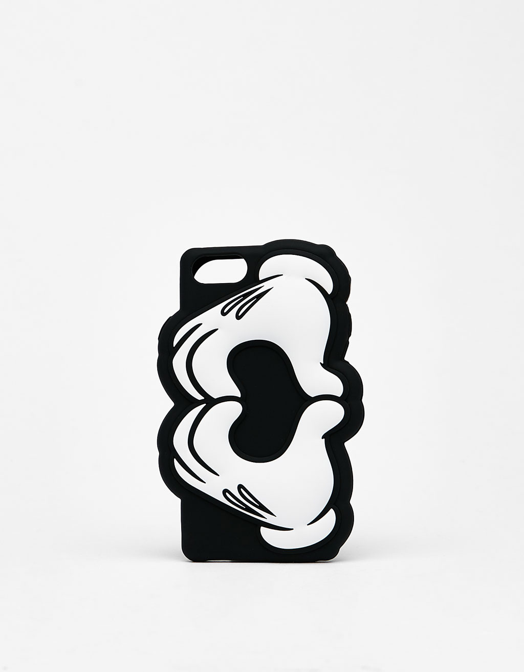 Mickey hands forming a heart iPhone 6/6s/7 case