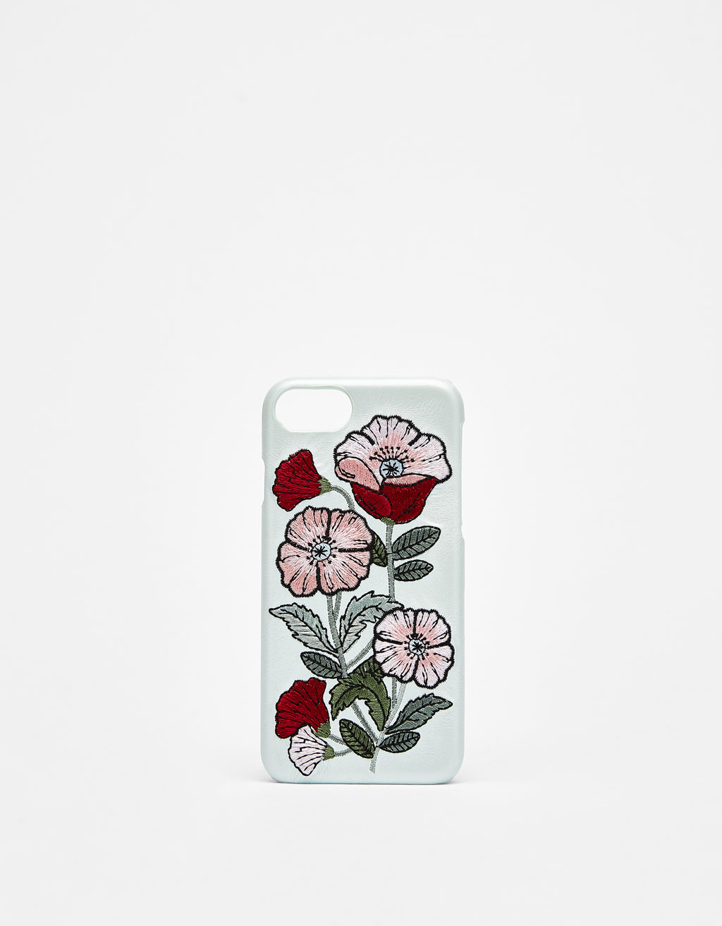 Carcasa con bordado de flores iPhone 6/6s/7/8