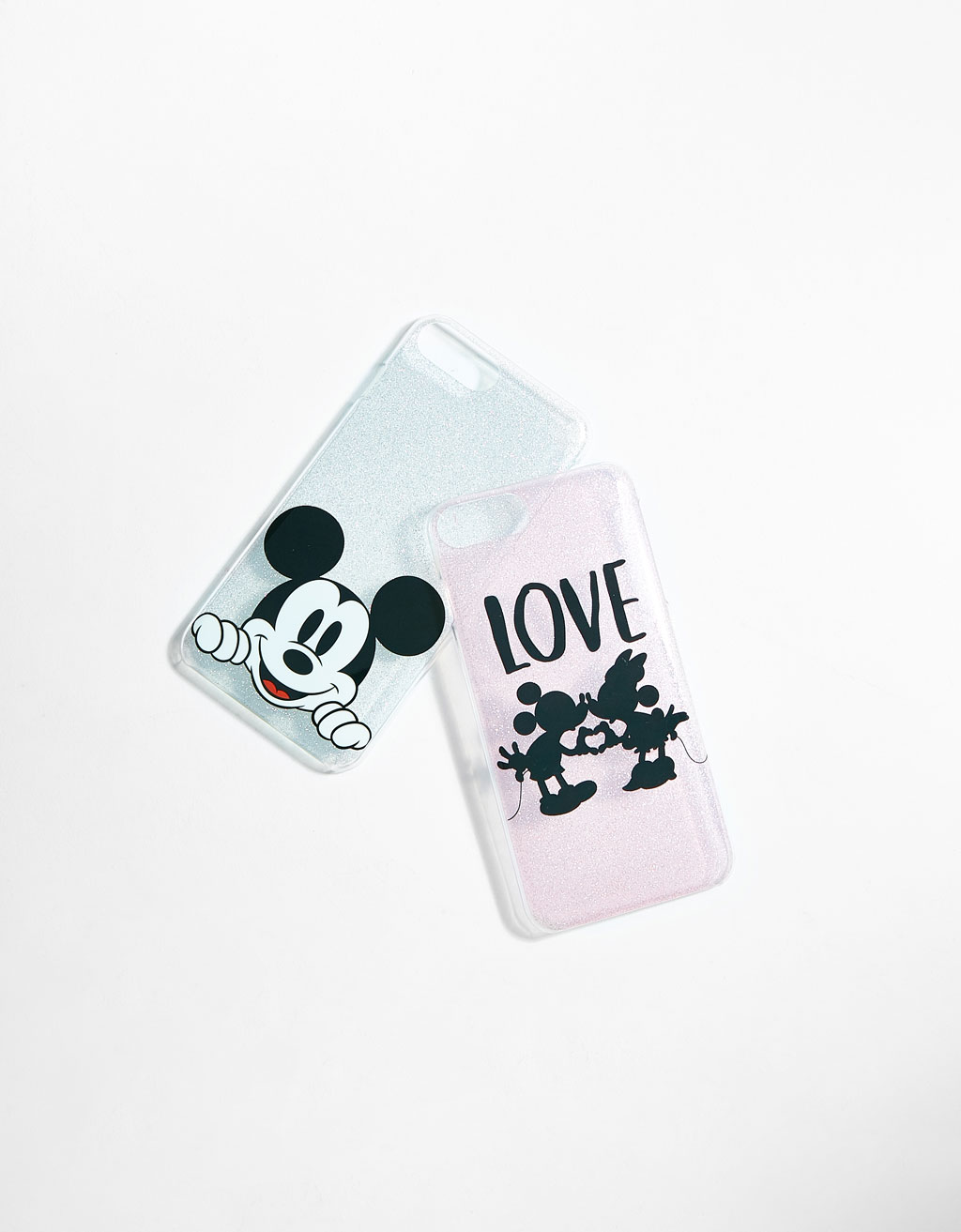 Lot 2 coques Mickey iPhone 6plus/7plus/8plus