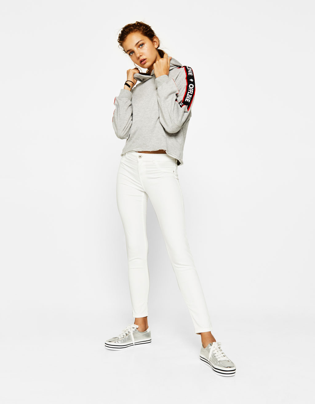 Super Skinny low-rise trousers
