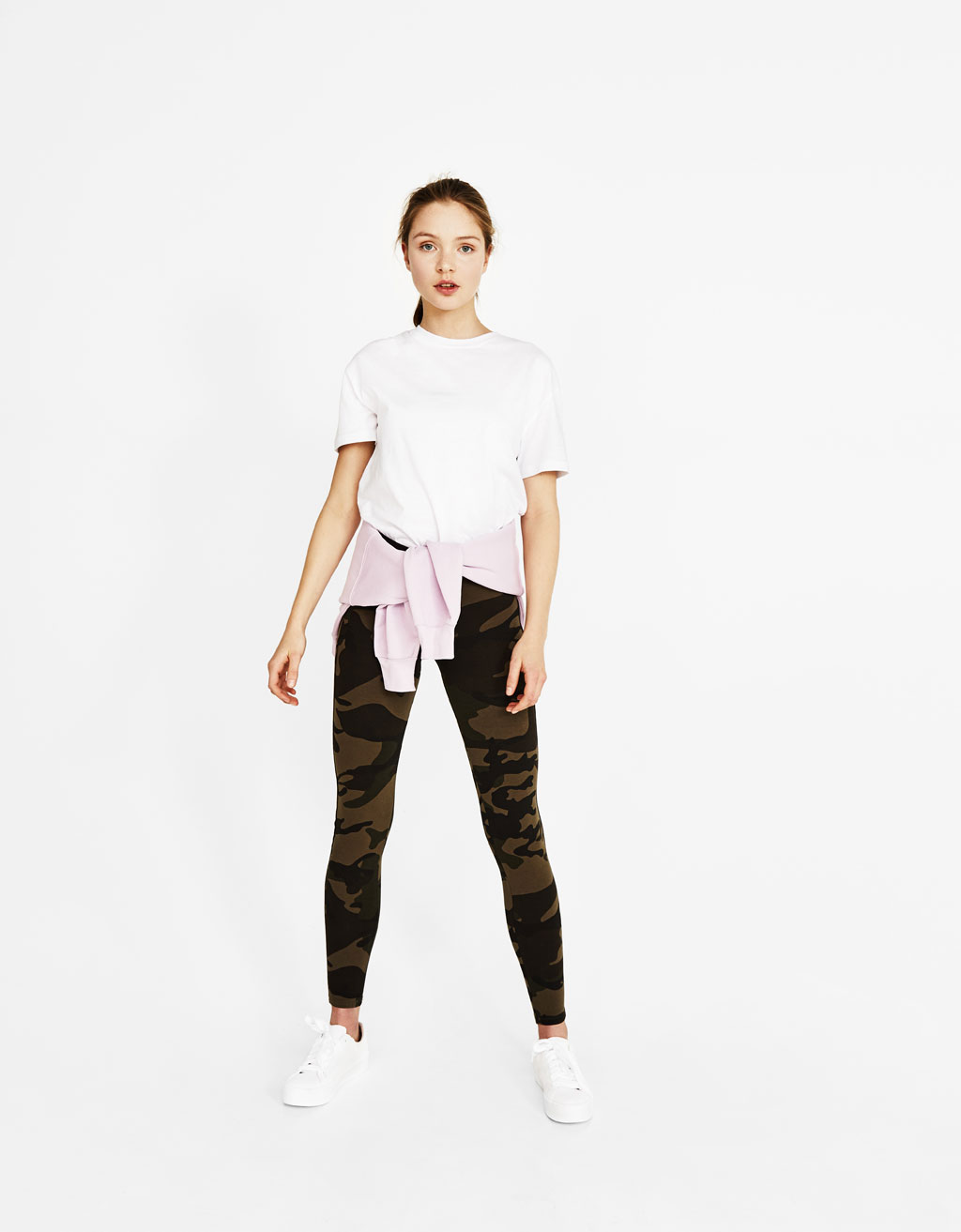 Sweat-Leggings mit Kordel