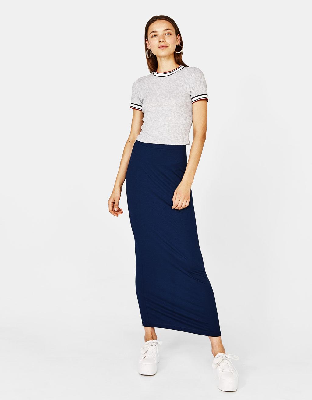 Longline skirt