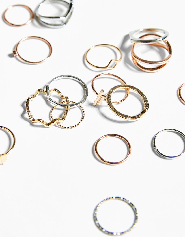 Komplet pierścionków