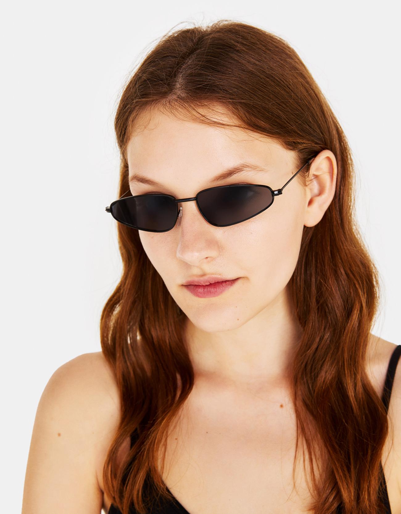 810283cc7dff Slim Cateye Sunglasses - Skinny - Bershka Albania