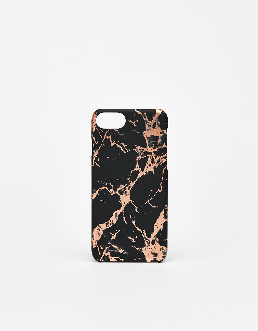 Marble-effect iPhone 6/6s/7/8 case