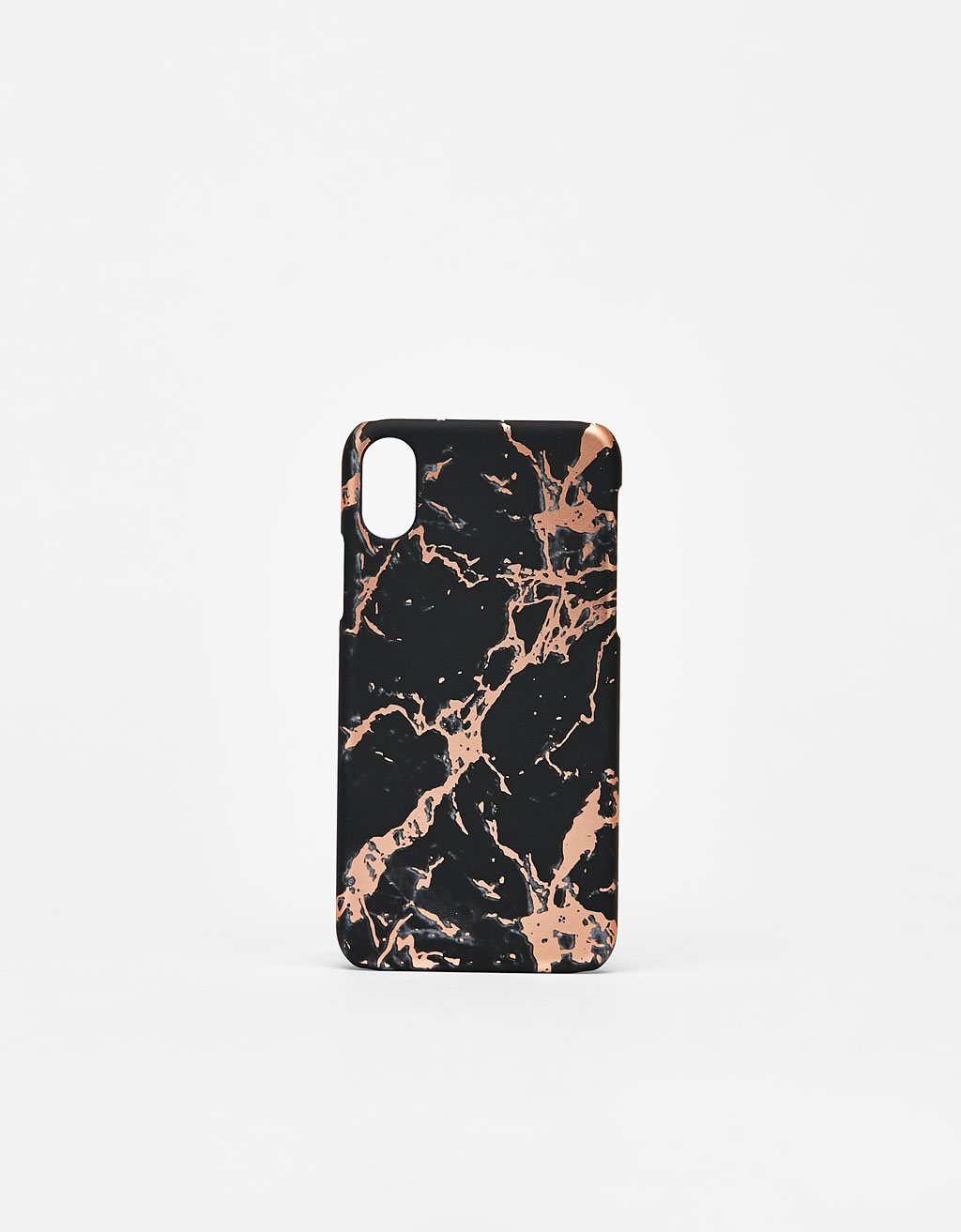 Marble-effect iPhone X case