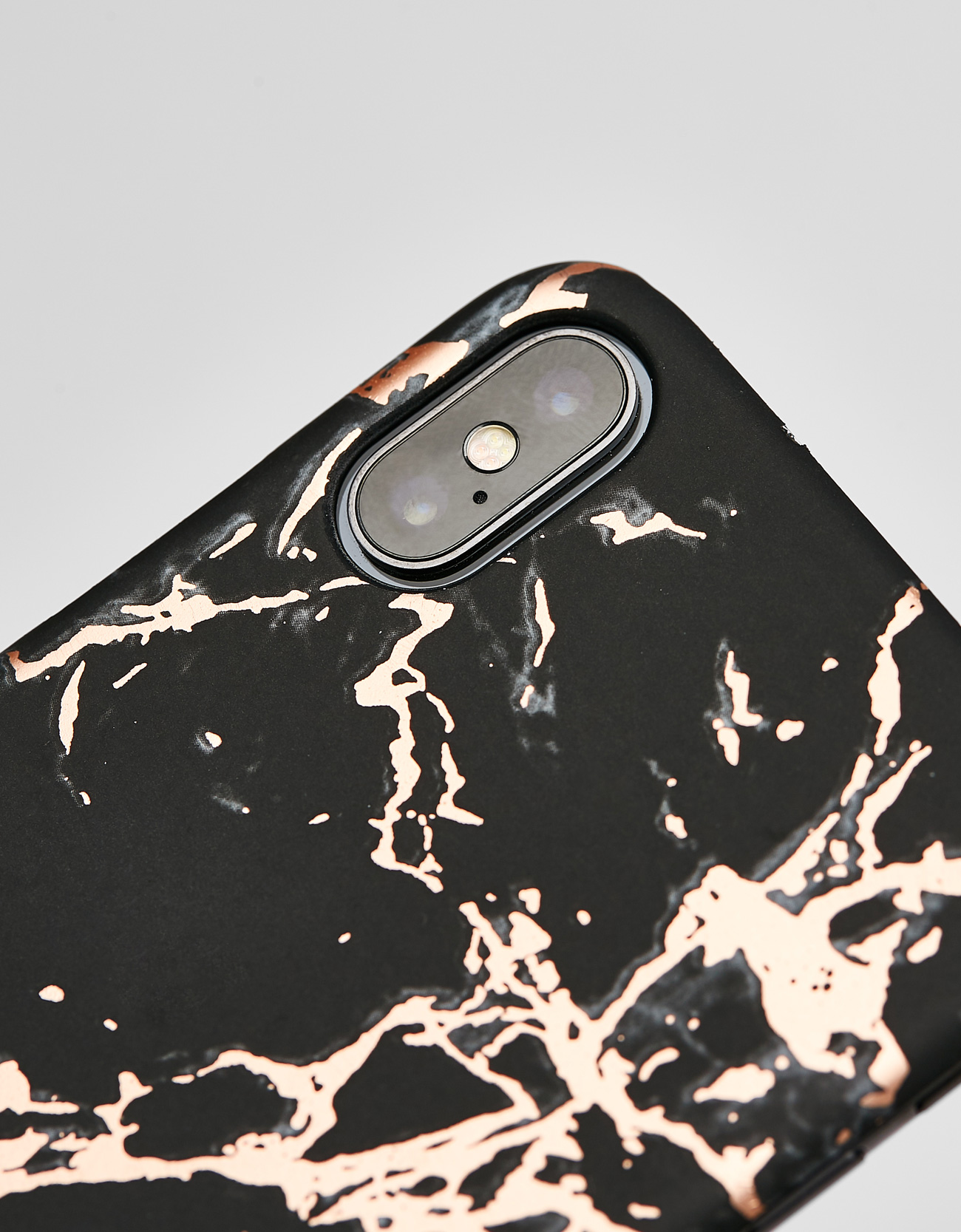 on sale a3932 cd195 Marble-effect iPhone X case