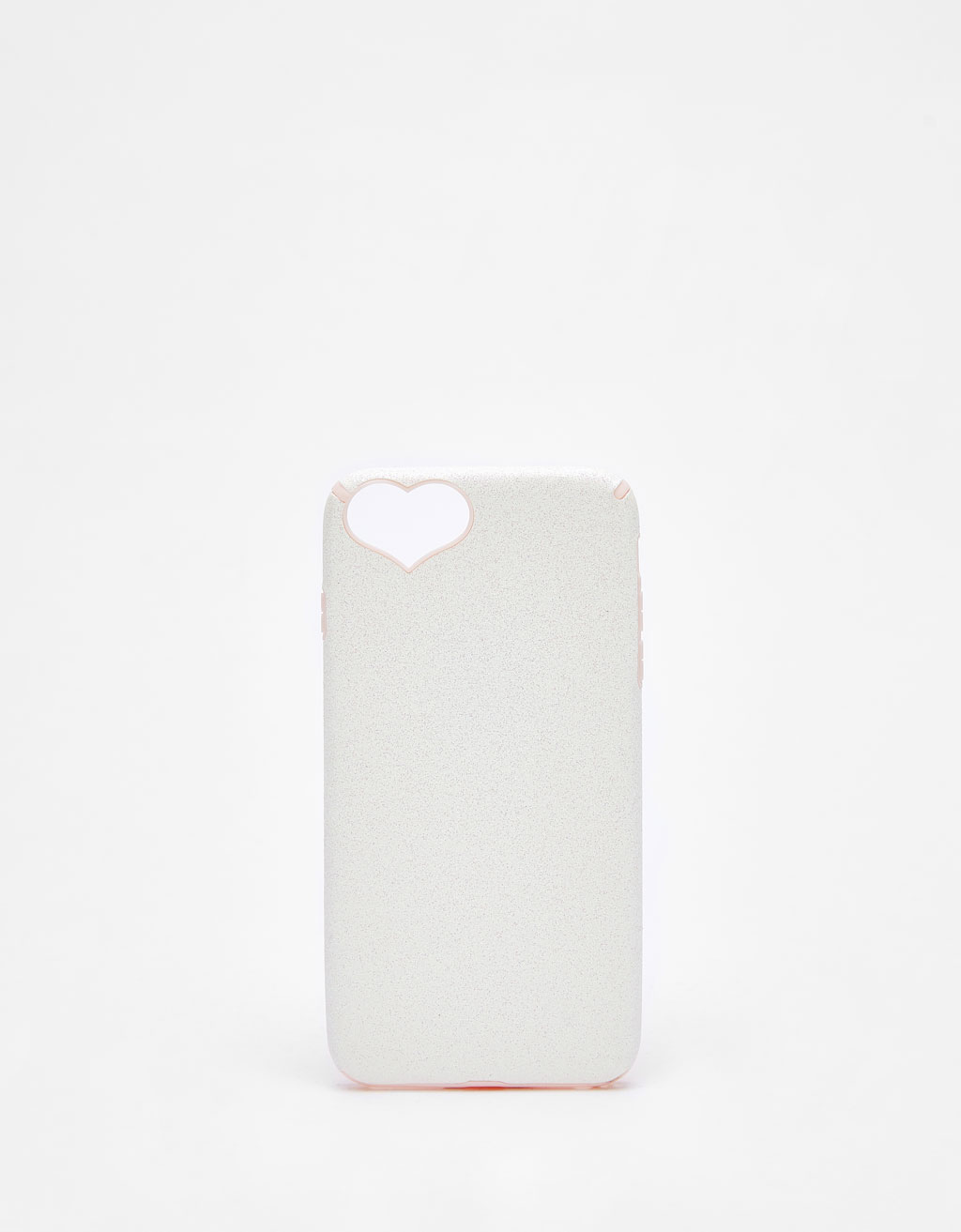 Coque paillettes cœur iPhone 6 plus/7 plus/8 plus