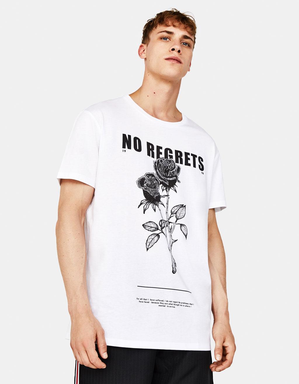 T-shirt avec imprimé