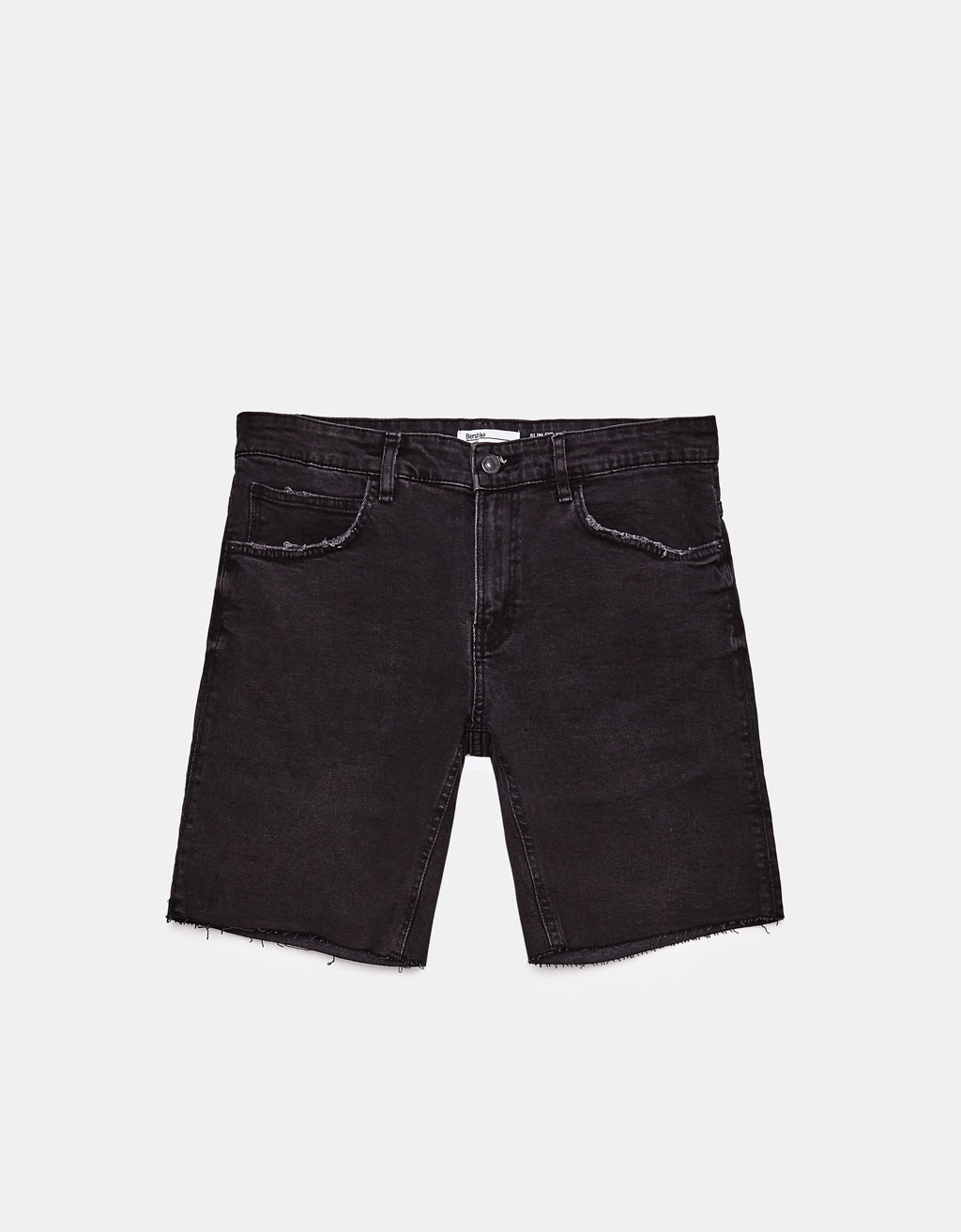 Denim slim fit comfort bermuda