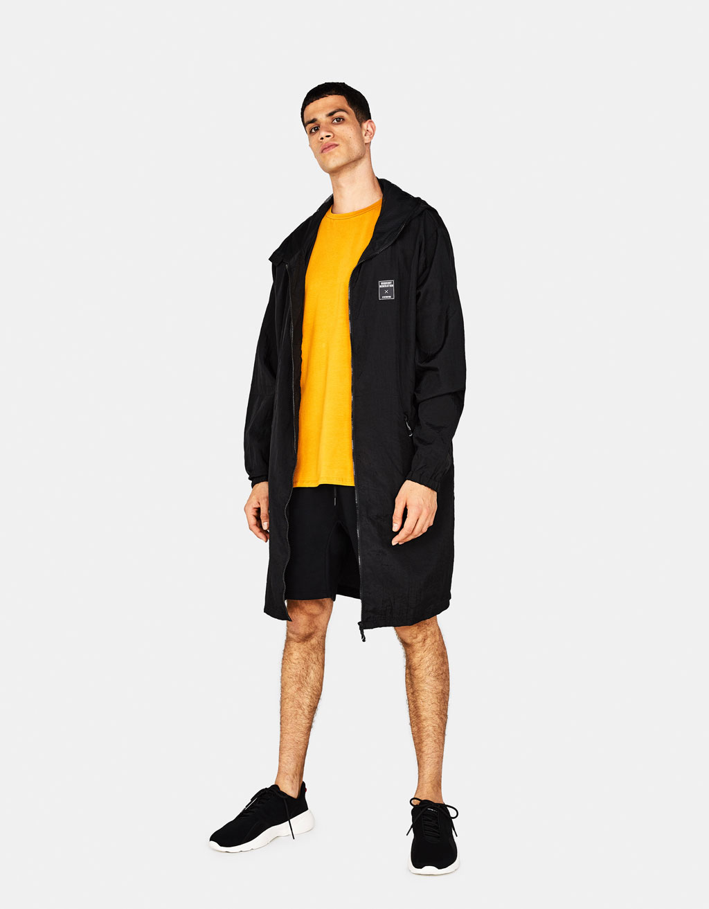 Technical sports parka