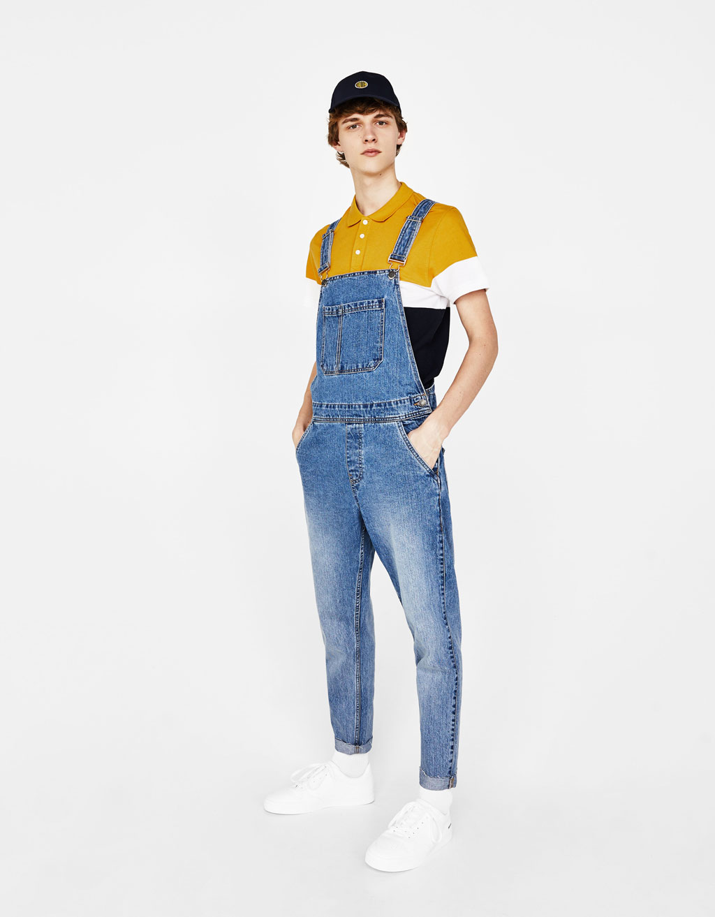 Peto largo denim