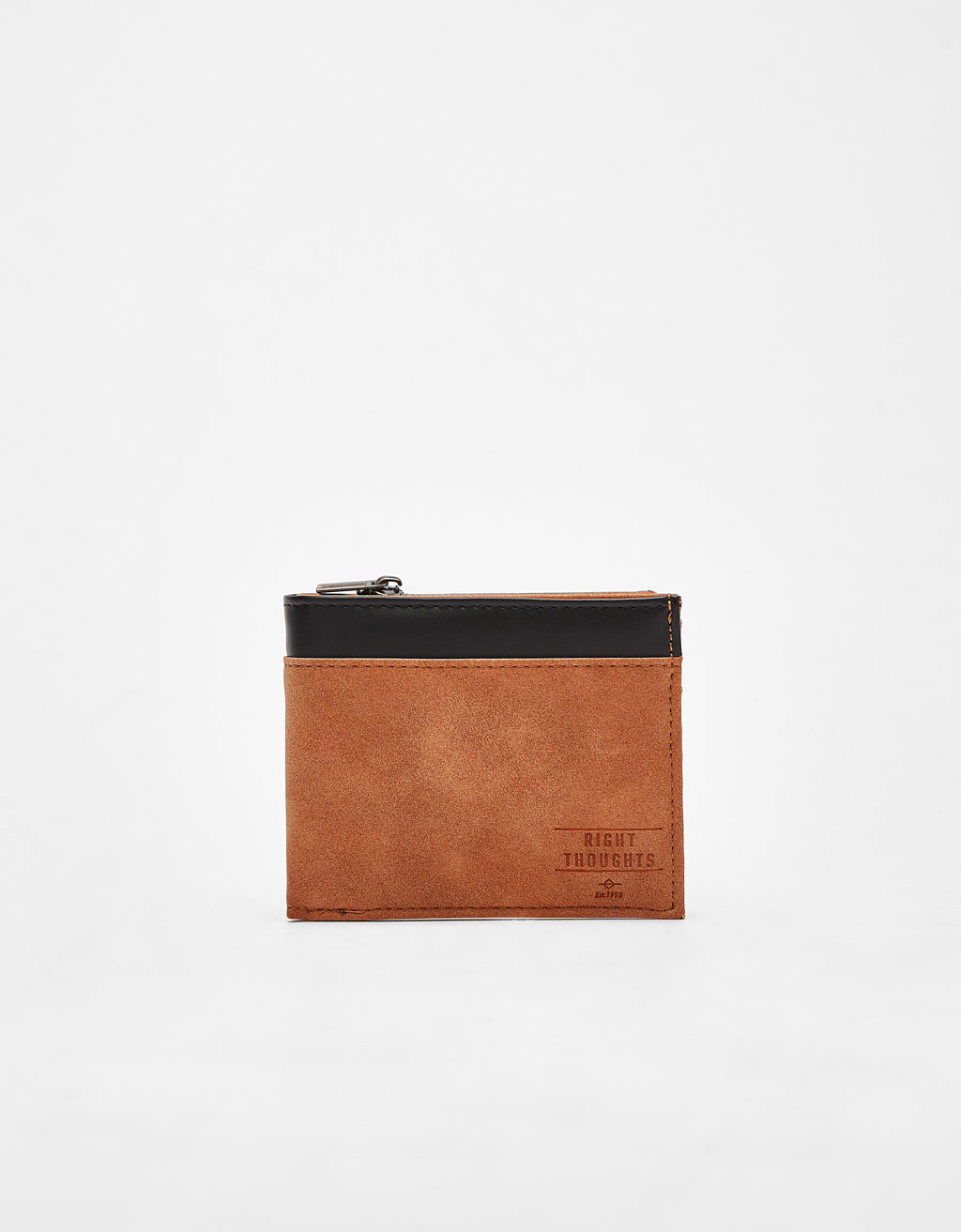 Contrasting wallet