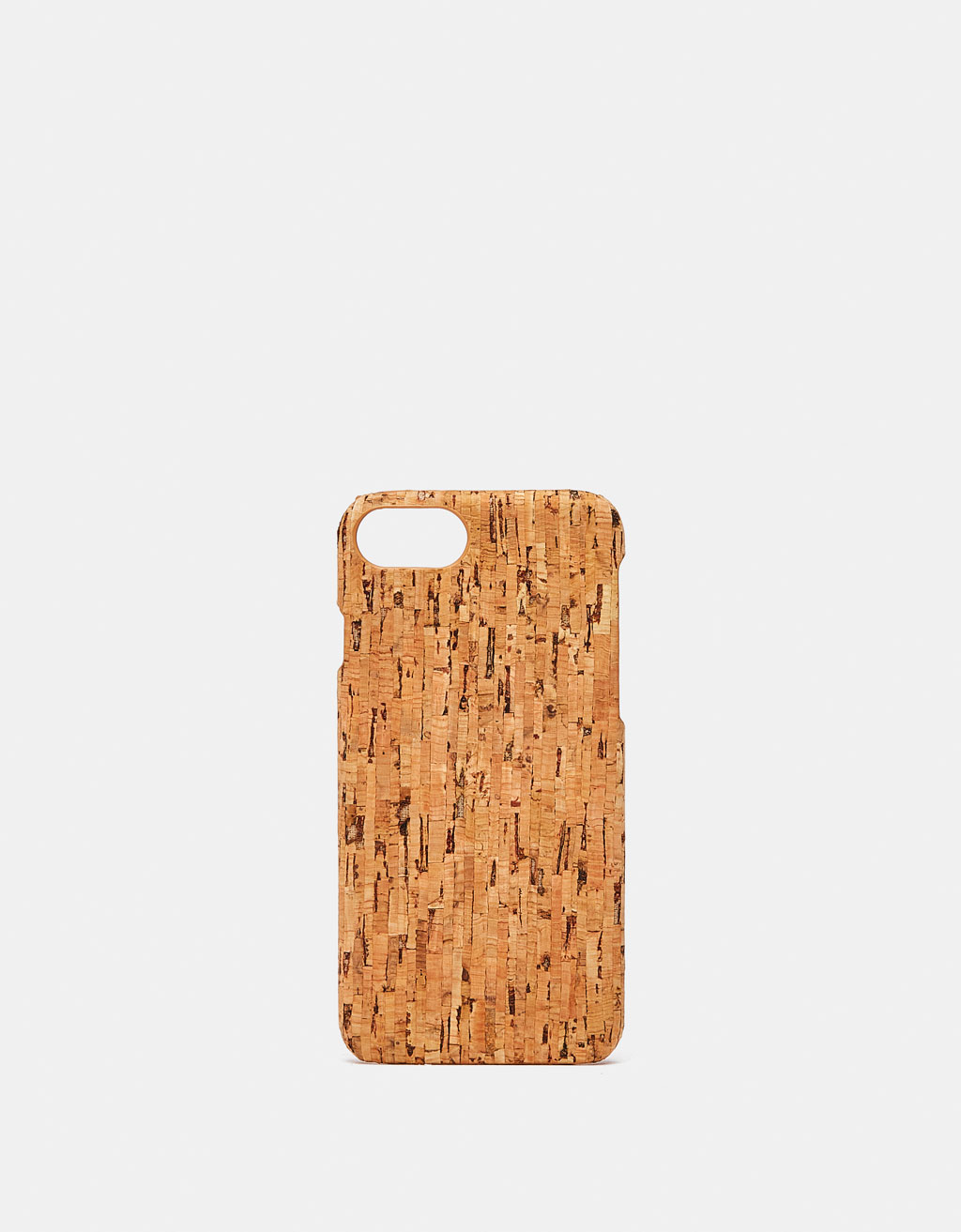 Cork-effect iPhone 6/7/8 case