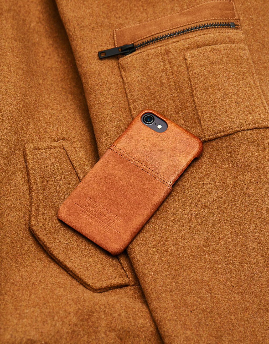 Faux leather case for iPhone 6/7/8