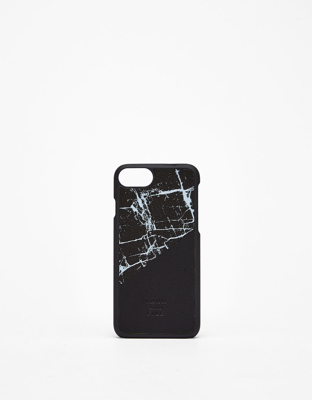 Contrasting marble design iPhone 6/7/8 case