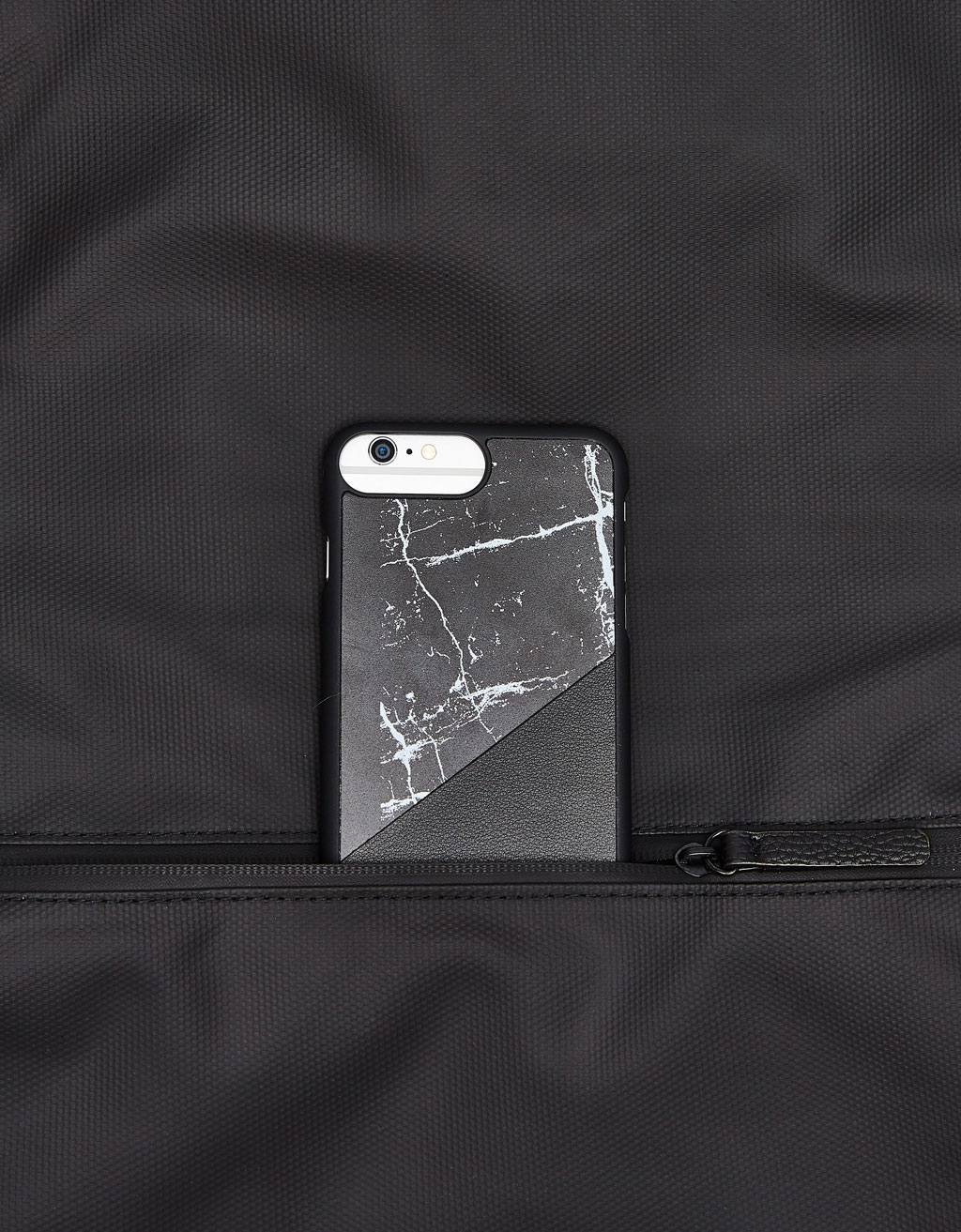 Contrasting marble design iPhone 6 Plus/7 Plus/8 Plus case