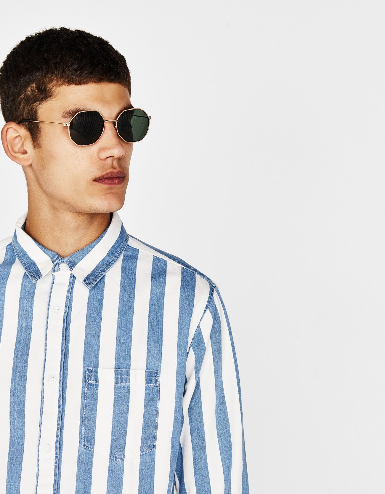 897dd49f5c Hexagonal sunglasses