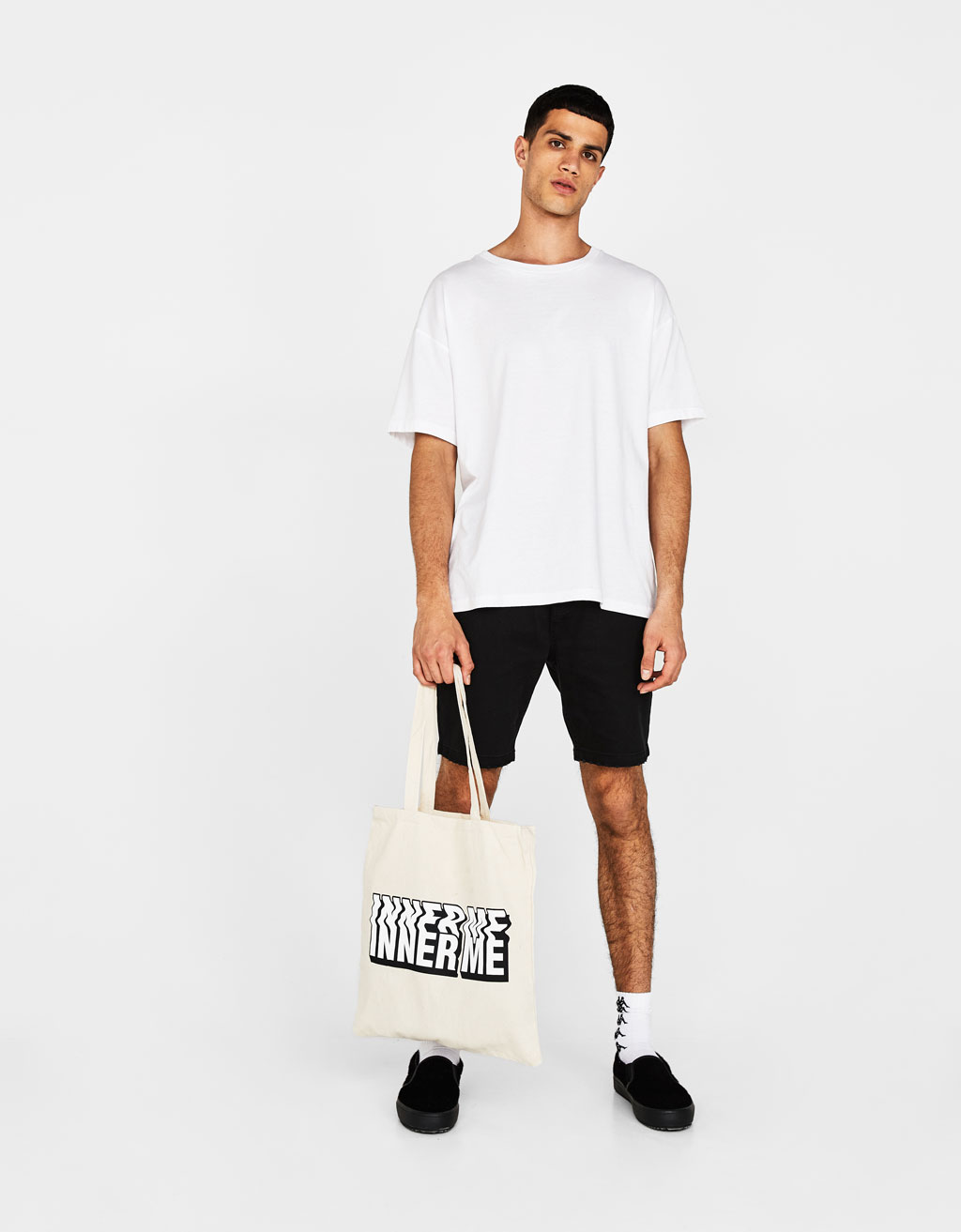 Shopper-bag met tekst