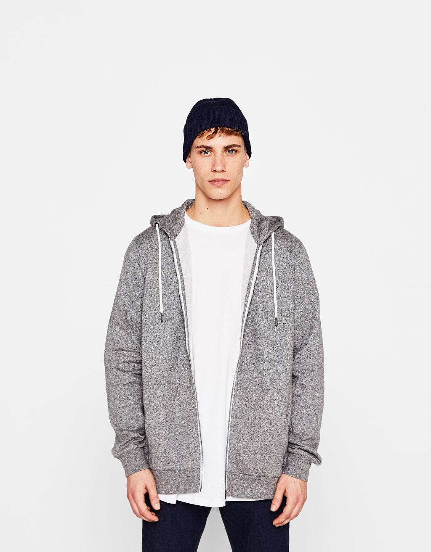 Plush hoodie