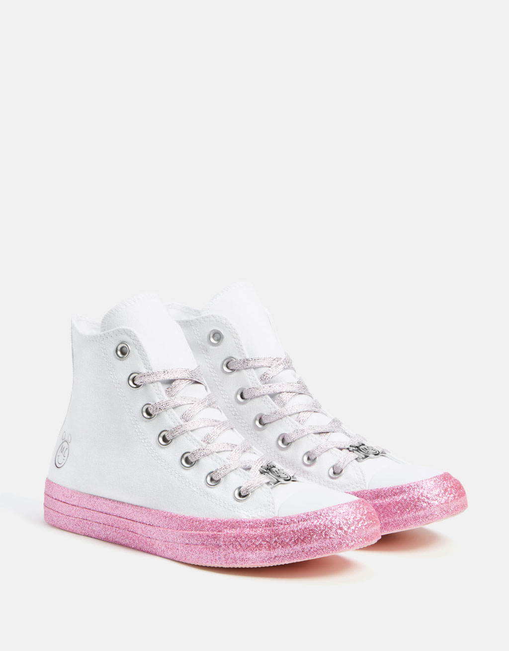 Baskets toile Converse X Miley Cyrus