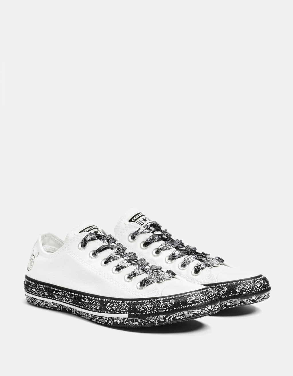 MILEY CYRUS X CONVERSE fabric trainers - SHOES - Bershka