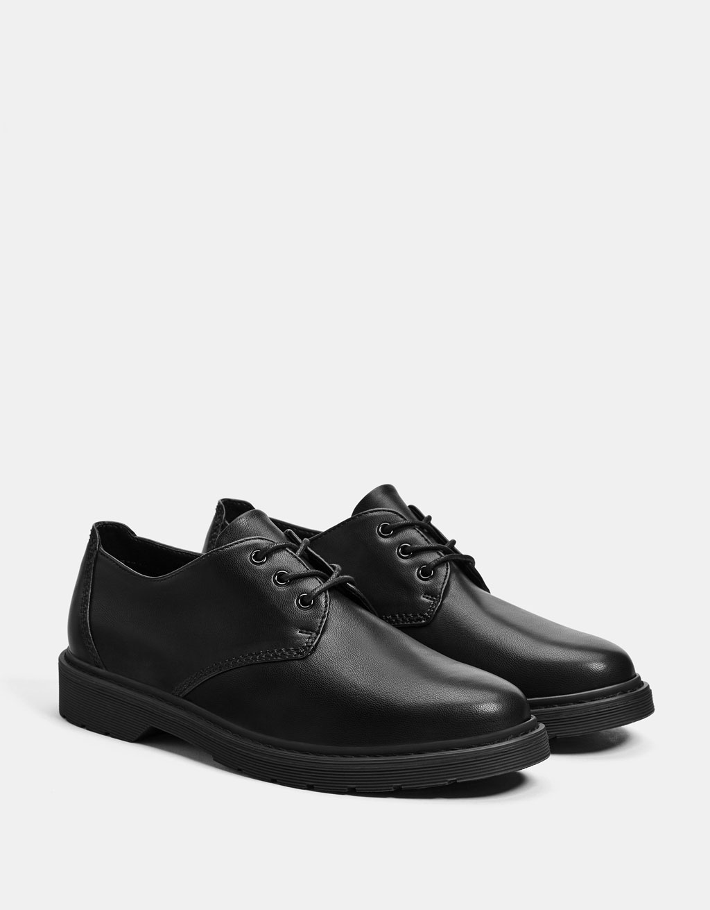 Men's smart black shoes