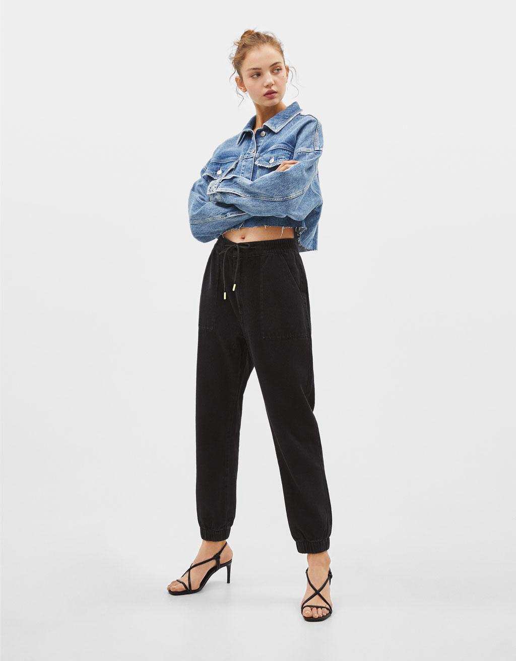 Pantalon de jogging en jean