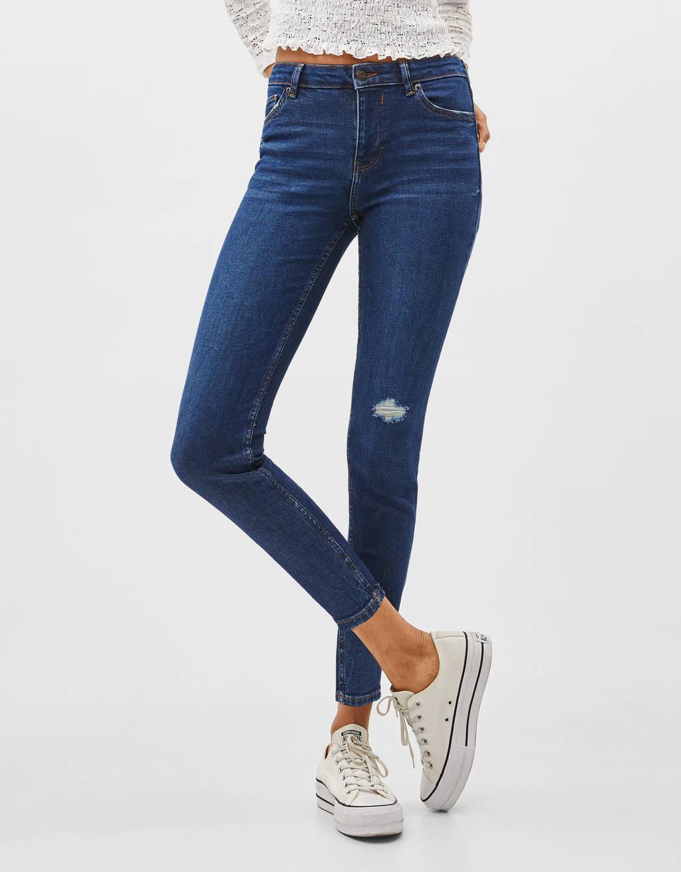 Jean skinny taille moyenne