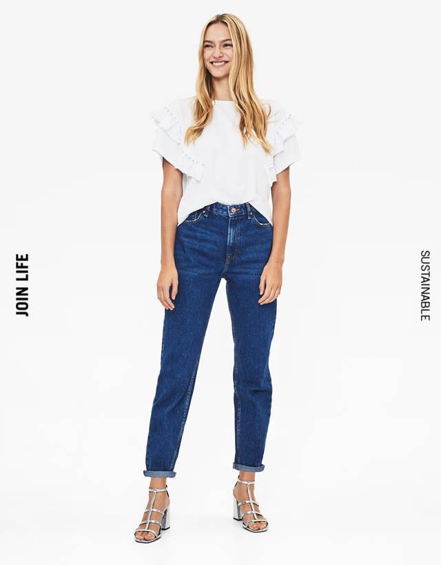 3daa84eec1f4 Mom Jeans für Damen - Sommerschlussverkauf 2019 | Bershka