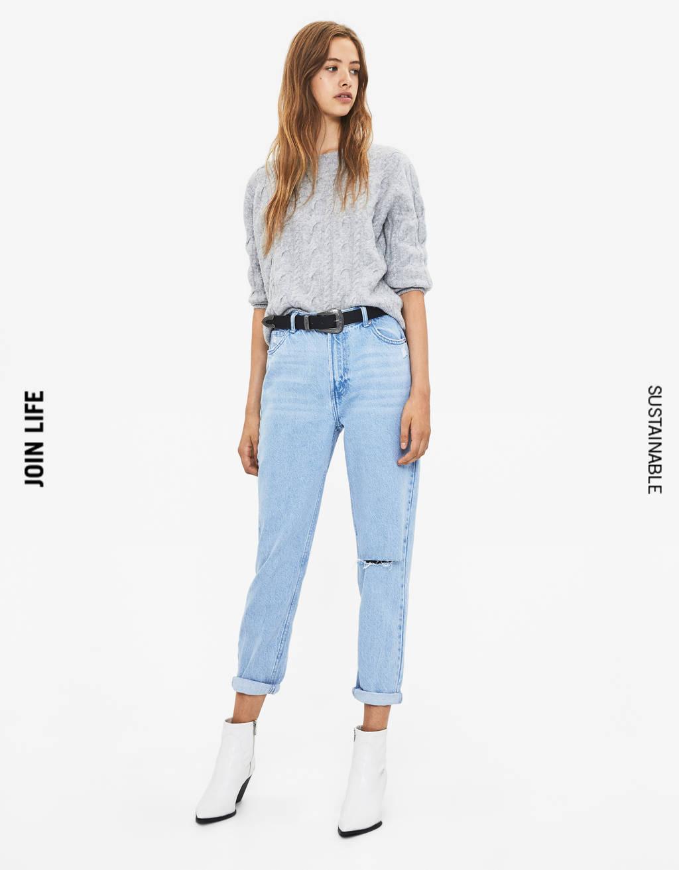 48f6c32948a7 Women's Jeans - Spring Summer 2019 | Bershka