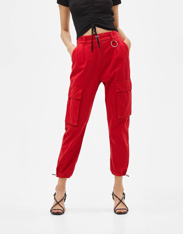 Карго панталон тип джогър