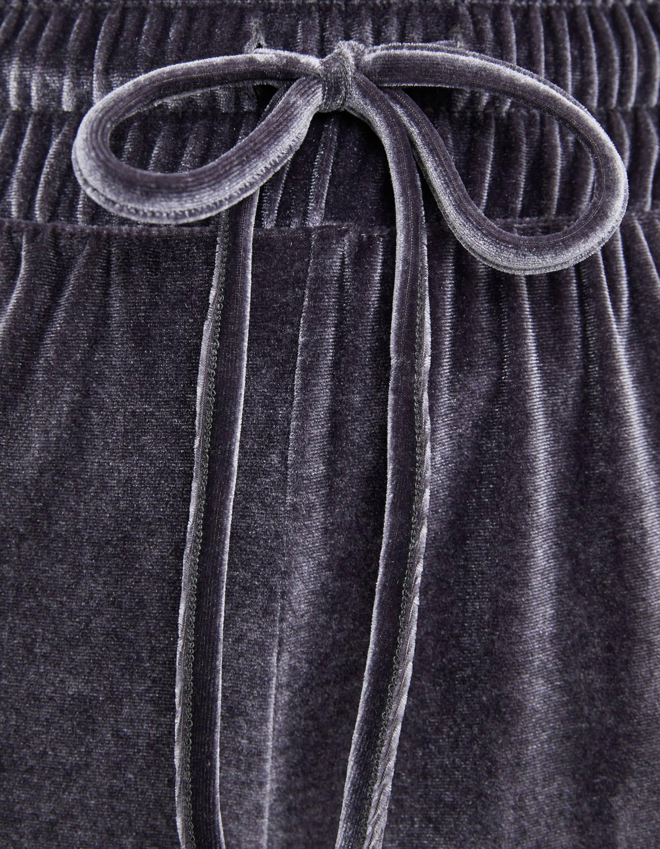 Бархатные брюки-кюлоты 0-562 Bershka