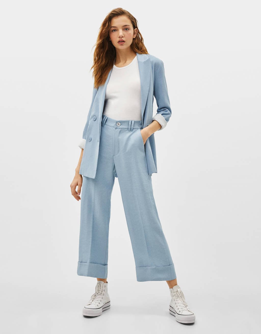 Loose-fitting culottes