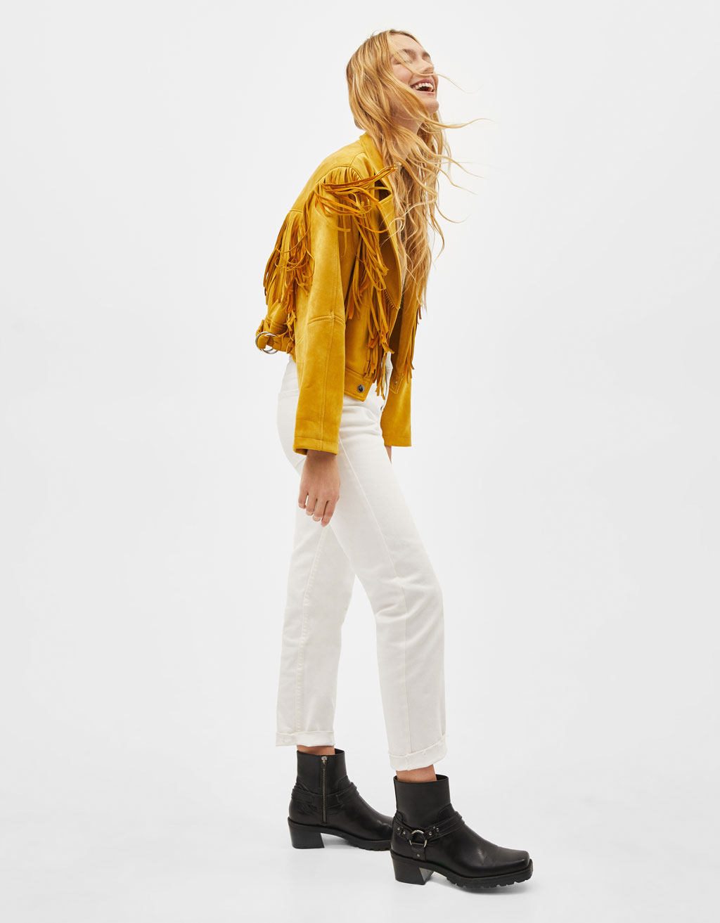 Vaqueiro Straight Cropped Mid Rise