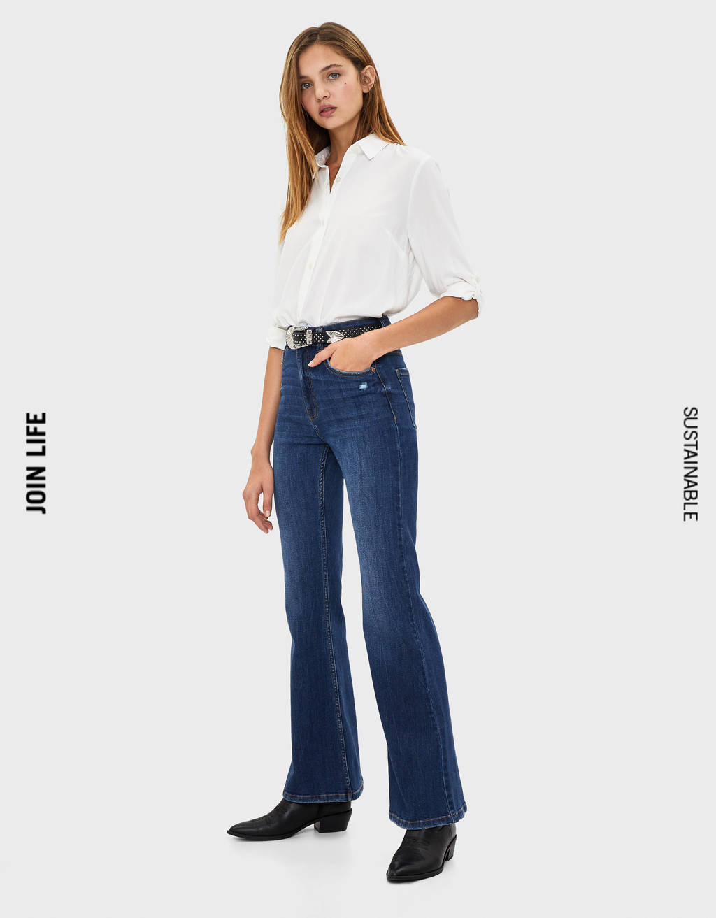 Traperice  Flare Fit High Waist