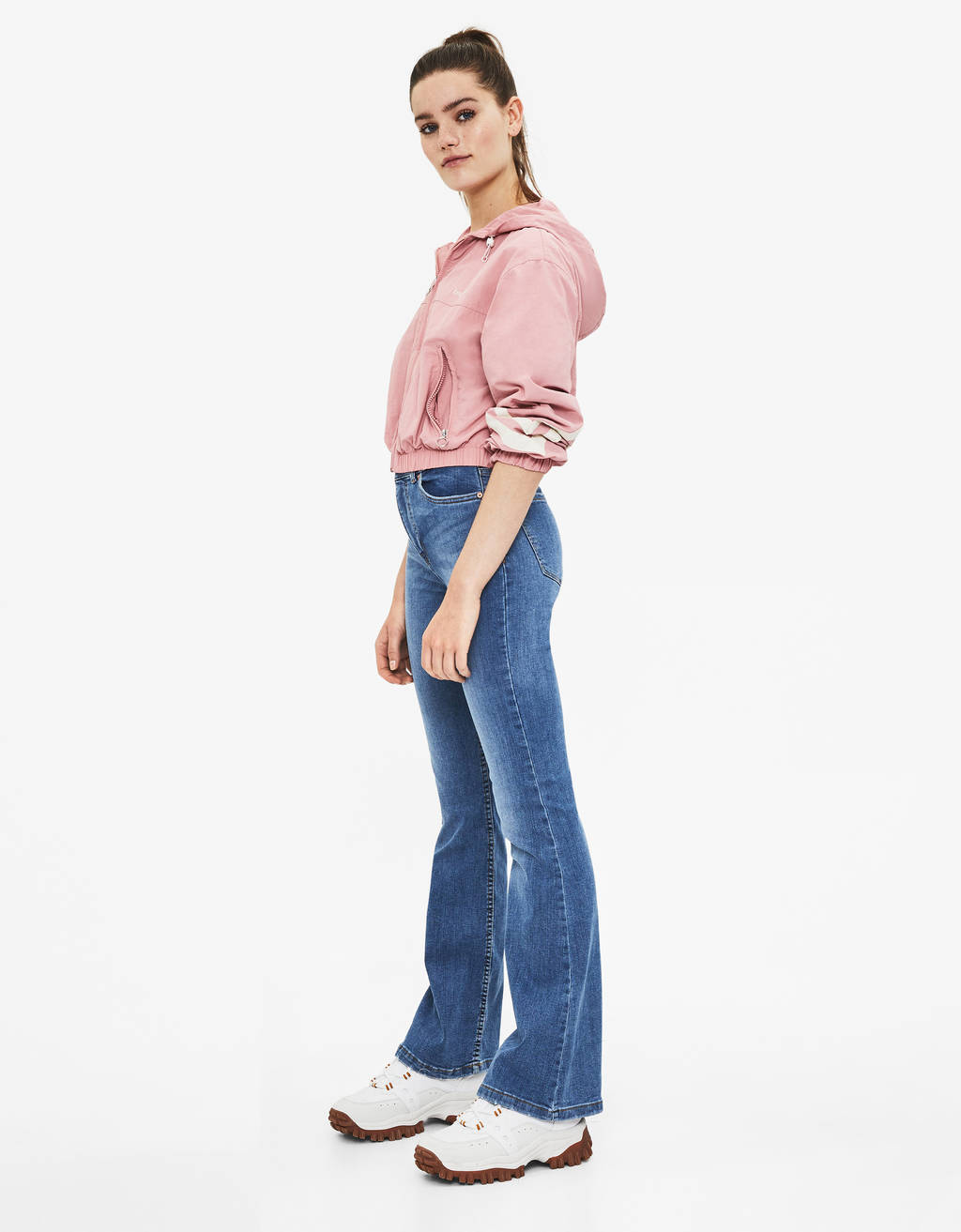 Jeans Flare Fit High Waist