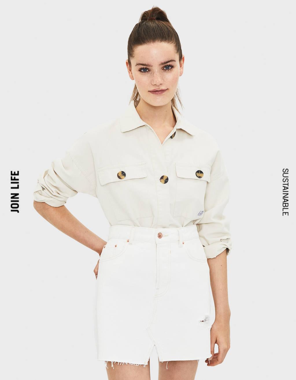 Traper suknja High Waist