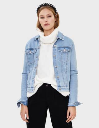 save off 9edc6 8b5e4 giacche di jeans per donna - Autunno 2019 | Bershka