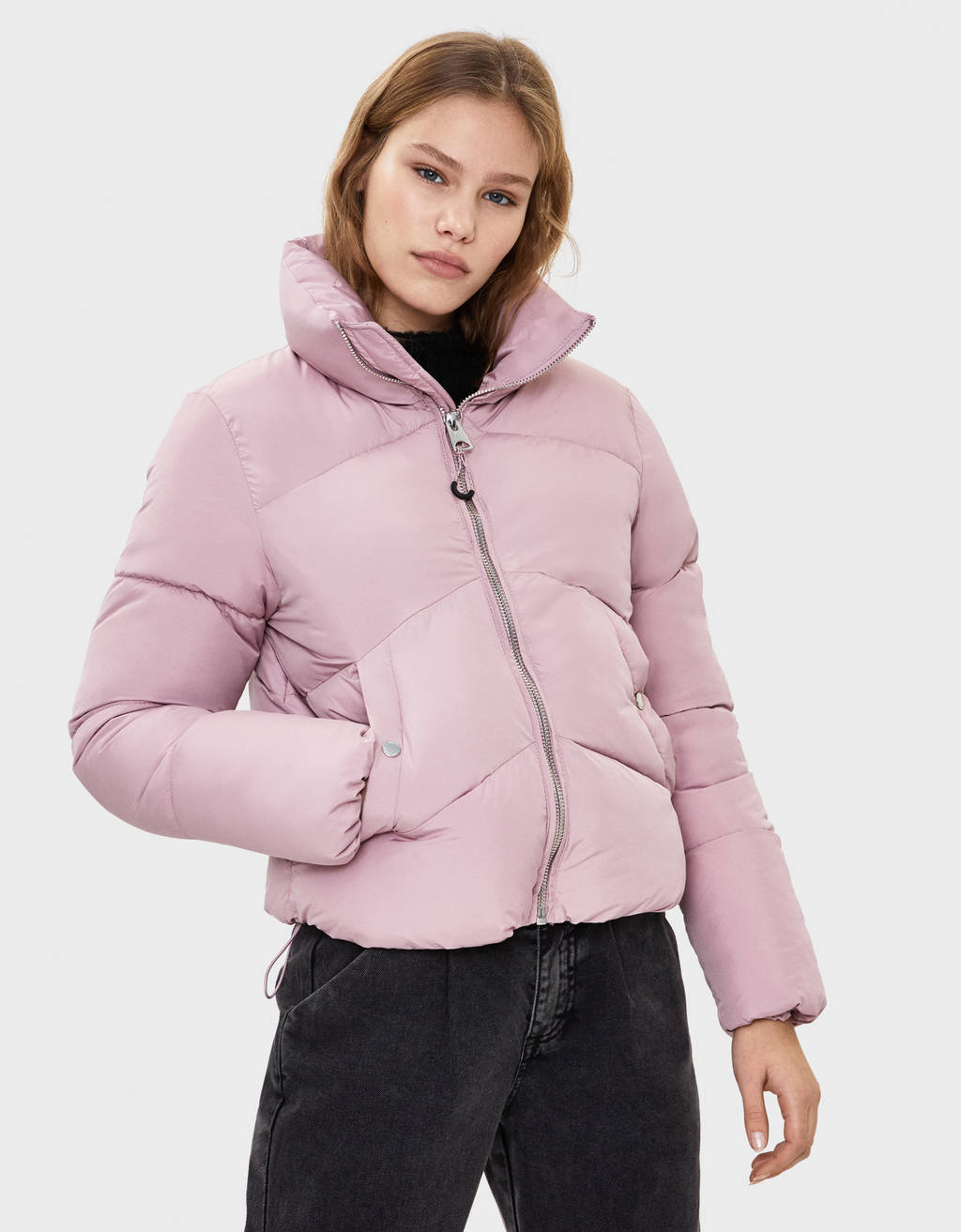 d83f7a61a1 Women's jackets - Fall 2019 | Bershka