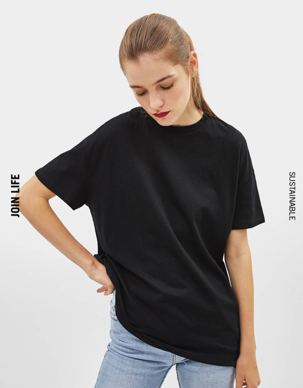 Oversized short sleeve T-shirt
